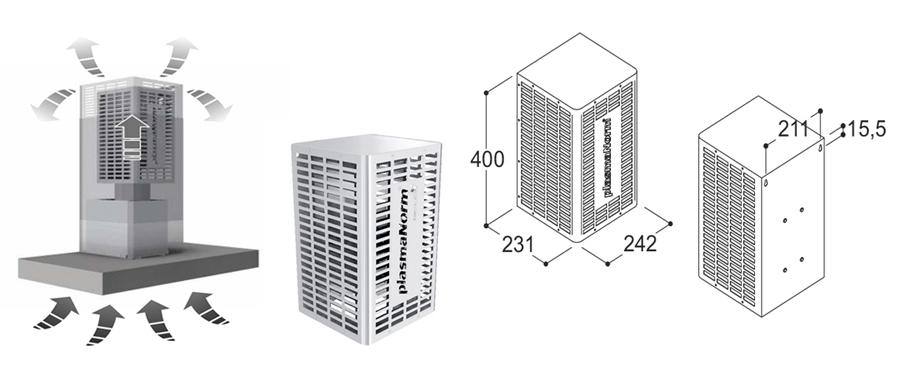 Plazmový filter od značky Sil Fim